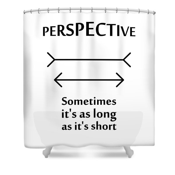 Perspective Shower Curtain