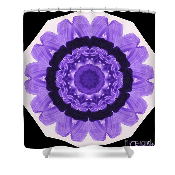 Petal Wheel Shower Curtain