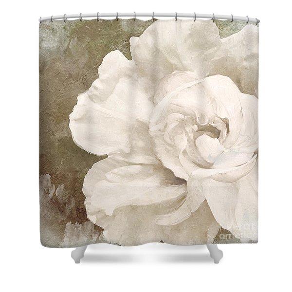 Petals Impasto II Shower Curtain