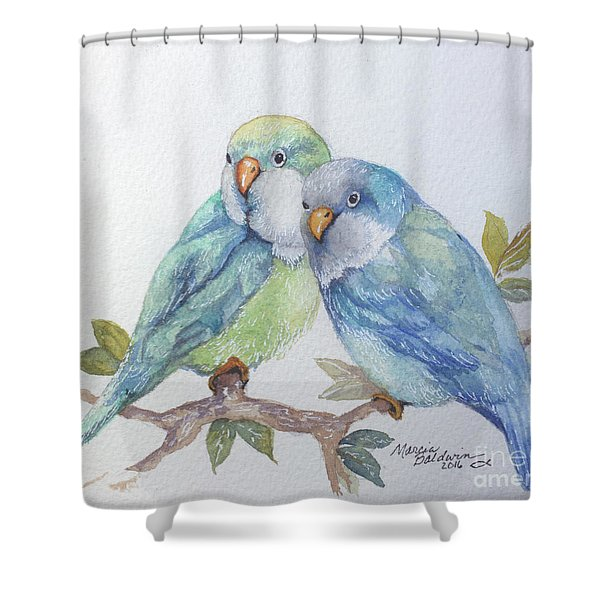 Pete And Repete Shower Curtain