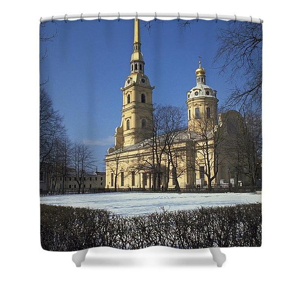 Peter And Paul Cathedral Shower Curtain