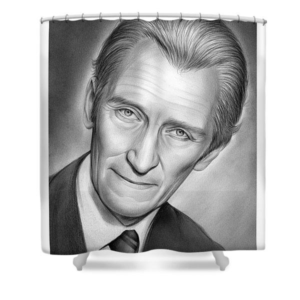 Peter Cushing Shower Curtain