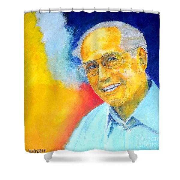 Peter Portrait Shower Curtain