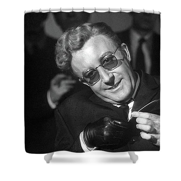 Peter Sellers As Dr. Strangelove Number One Color Added 2016 Shower Curtain
