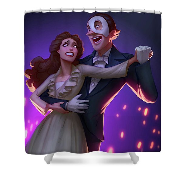 Phantom Shower Curtain