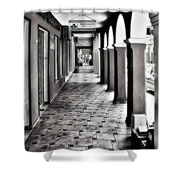 Pharmacy, Zante Town. #zakynthos #zante Shower Curtain