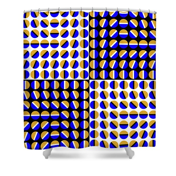 Phases Shower Curtain