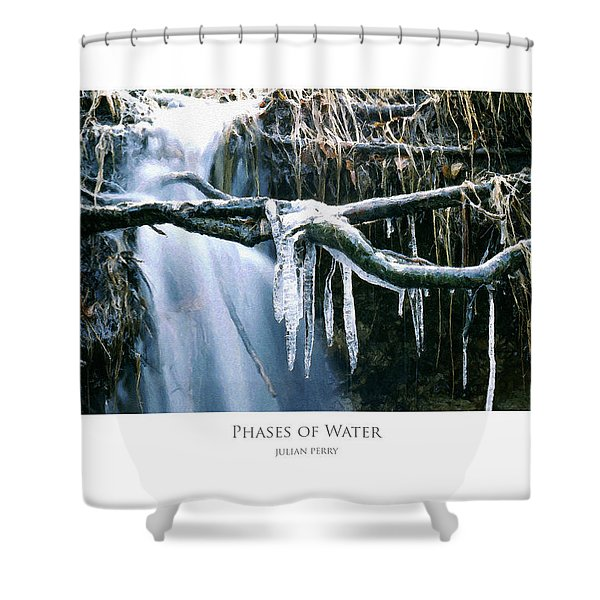 Phases Of Water Shower Curtain