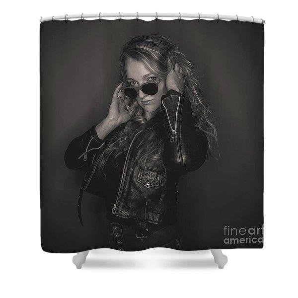 Pheobe 1 Shower Curtain