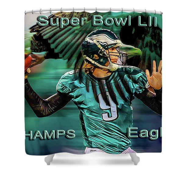 Philadelphia Eagles - Super Bowl Champs Shower Curtain