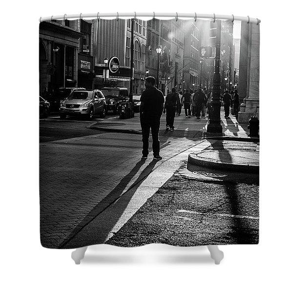 Philadelphia Street Photography - 0943 Shower Curtain