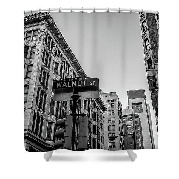 Philadelphia Urban Landscape - 0980 Shower Curtain