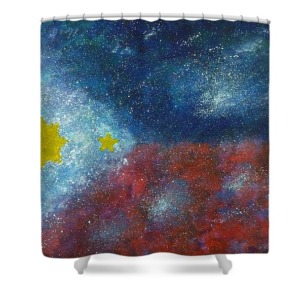 Philippine Flag Shower Curtain
