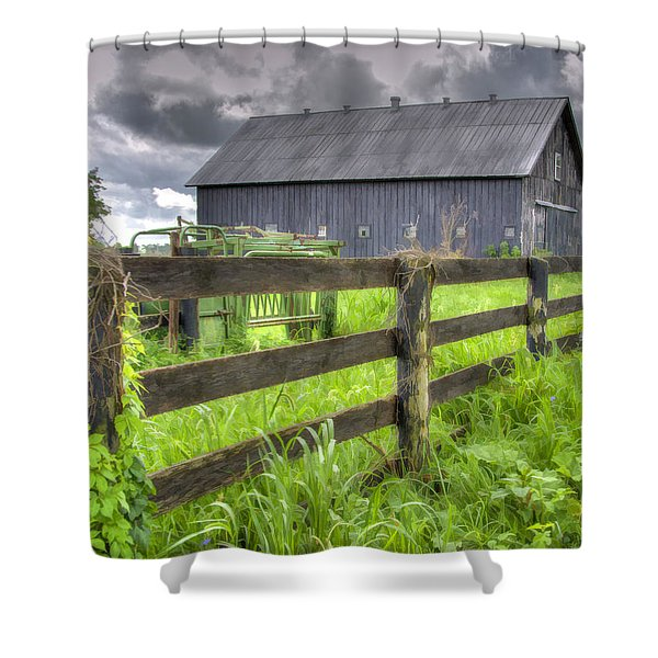 Phillip's Barn #4 Shower Curtain