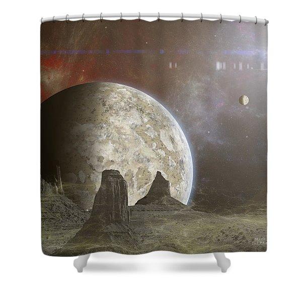 Phobos Shower Curtain