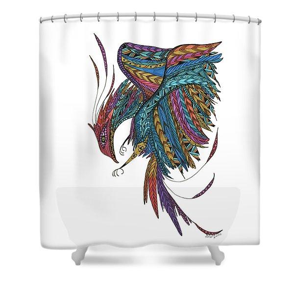 Phoenix Landing Shower Curtain