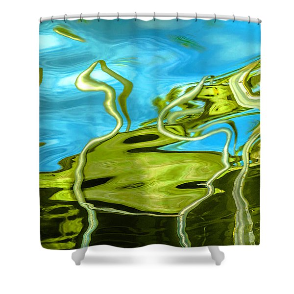 Photo Painting 3 Shower Curtain
