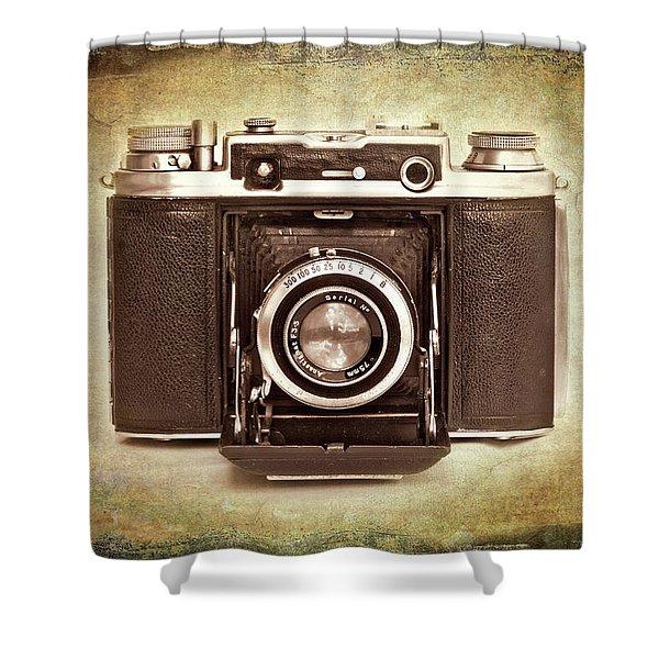 Photographer's Nostalgia Shower Curtain