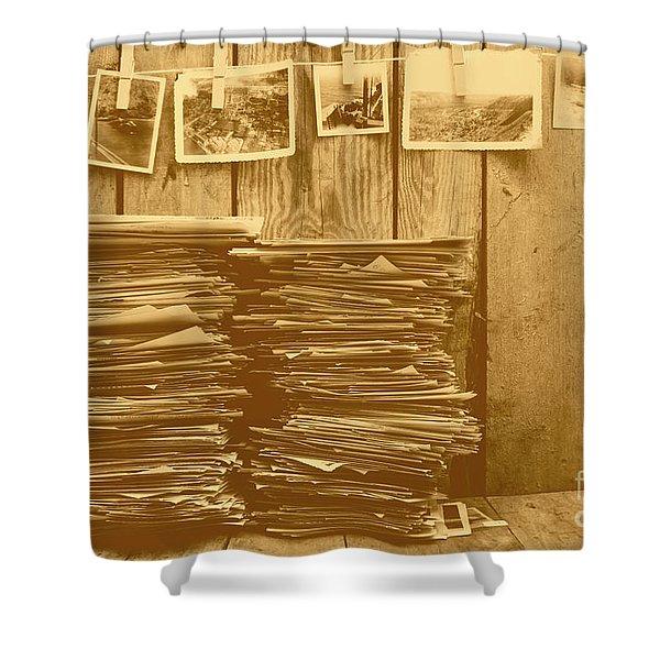 Photographic Memories Shower Curtain