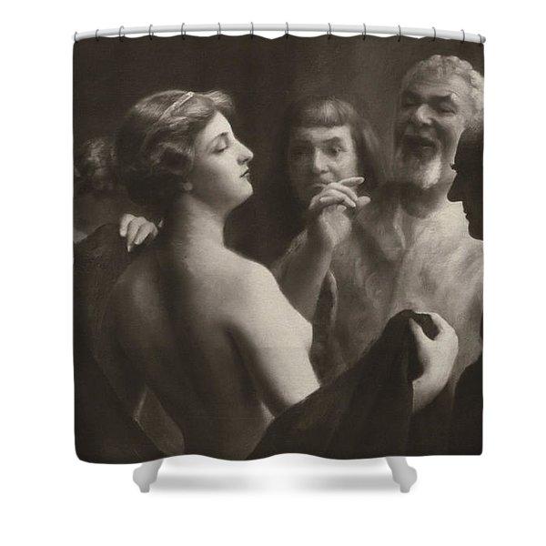 Phryne Shower Curtain