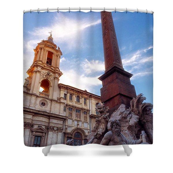Piazza Novana Shower Curtain