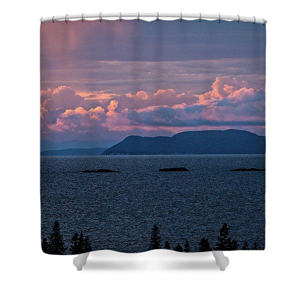 Pic Island Shower Curtain