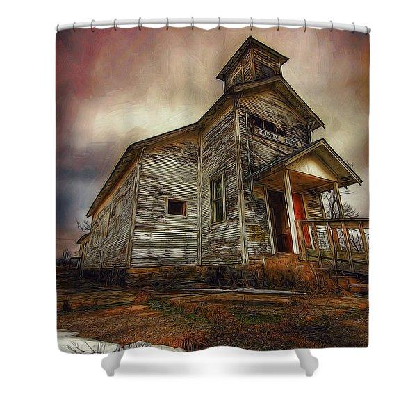 Picher Christian Church Shower Curtain