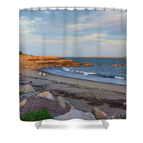 Picnic At Sunset Shower Curtain