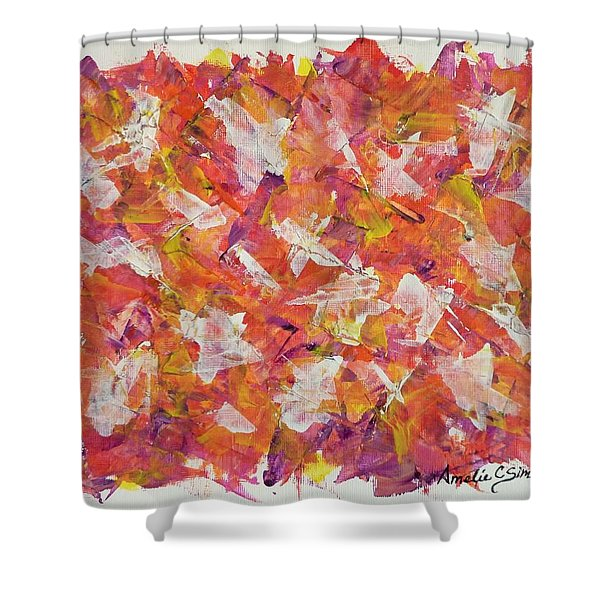 Piecefall  Shower Curtain