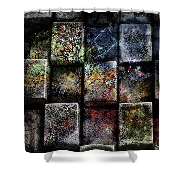 Pieces Shower Curtain