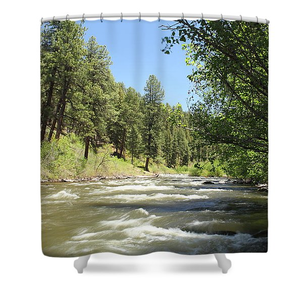 Piedra River Shower Curtain