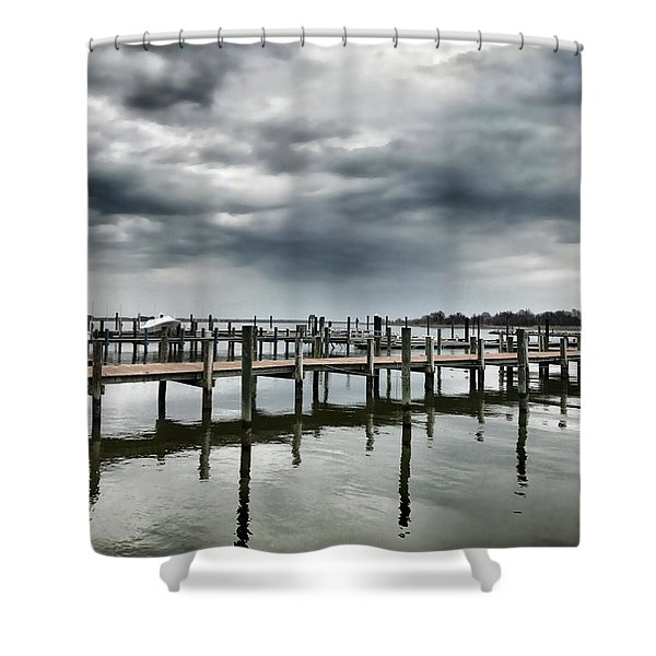 Pier Pressure Shower Curtain