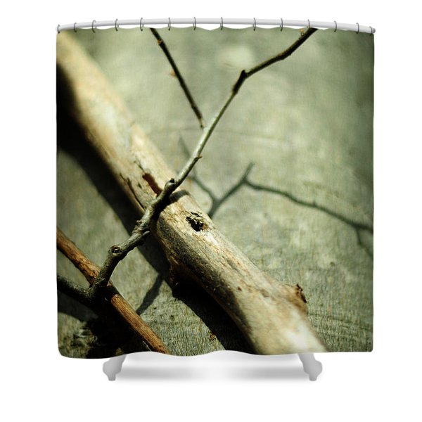 Piercing Body And Soul Shower Curtain