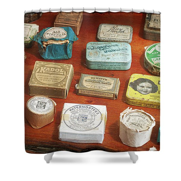 Pills, Powders And Ointments Shower Curtain