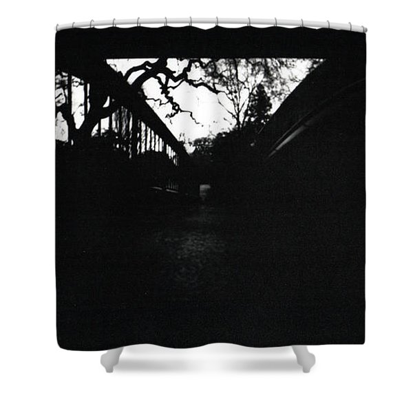 Pin Hole Camera Shot 2 Shower Curtain