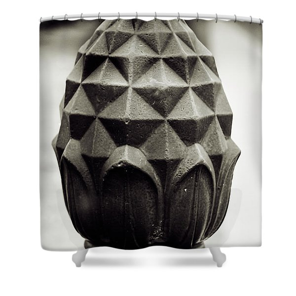 Pineapple, Oak Alley, Vacherie, Louisiana Shower Curtain