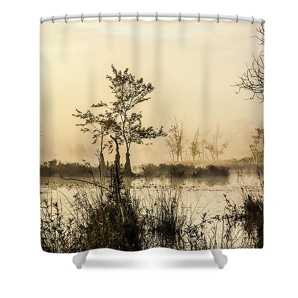 Pinelands - Mullica River Shower Curtain