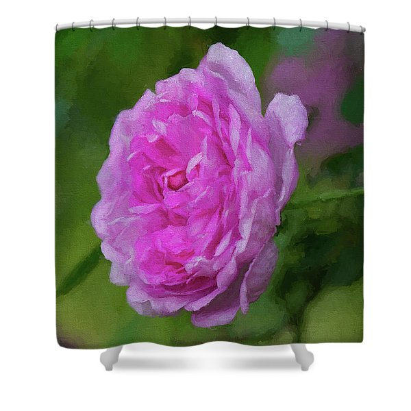 Pink Beauty In Bloom Shower Curtain