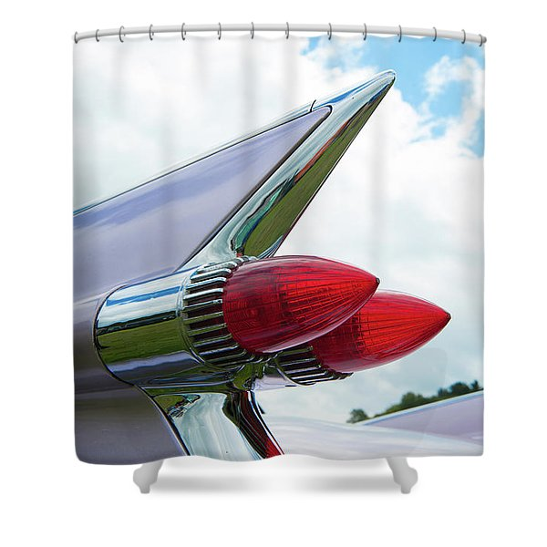 Pink Cadillac Shower Curtain