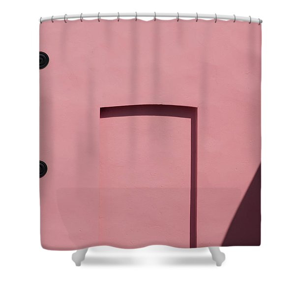 Pink Emoji Shower Curtain