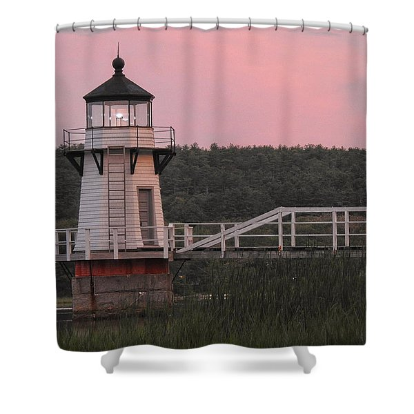Pink In The Morning Shower Curtain