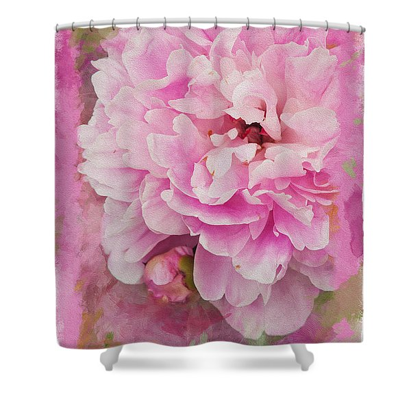 Pink Peony 2 Shower Curtain