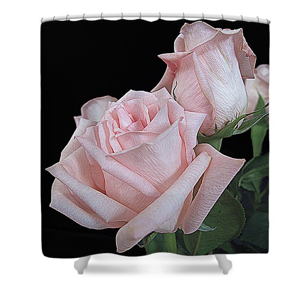 Pink Persuasion Shower Curtain