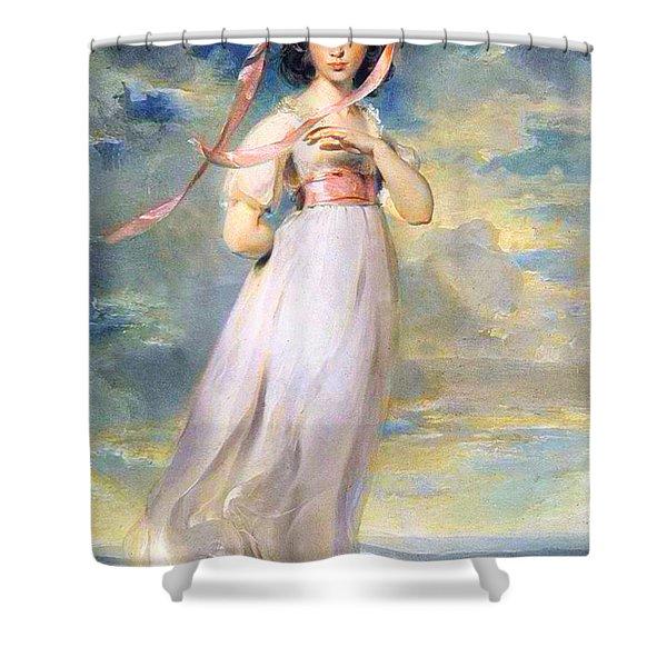 Pinkie Shower Curtain