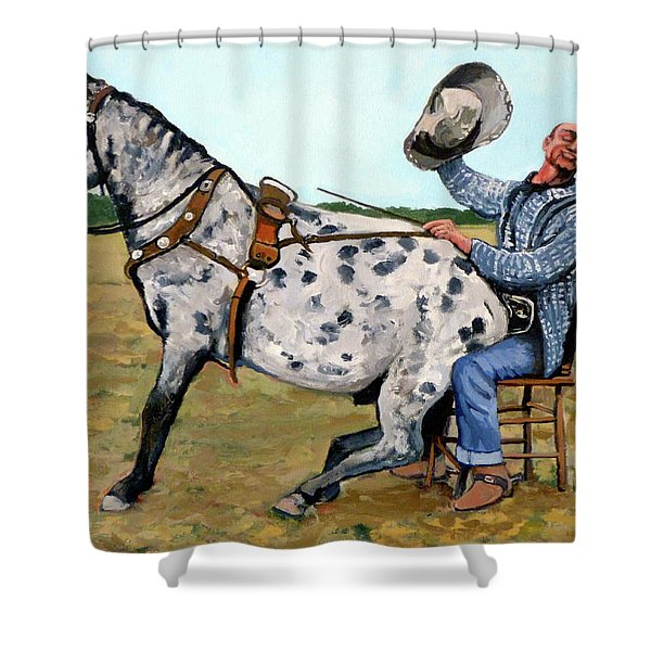 Pinky And Gert Shower Curtain
