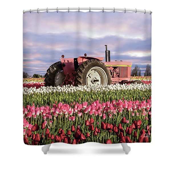 Pinky Jd Shower Curtain