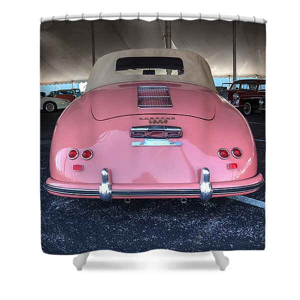 Pinky Shower Curtain