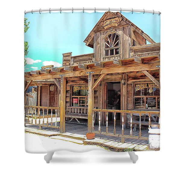 Pioneertown, Usa Shower Curtain