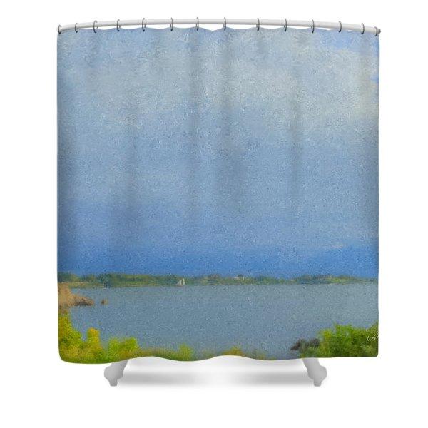 Pirate Cove Jamestown Ri Shower Curtain