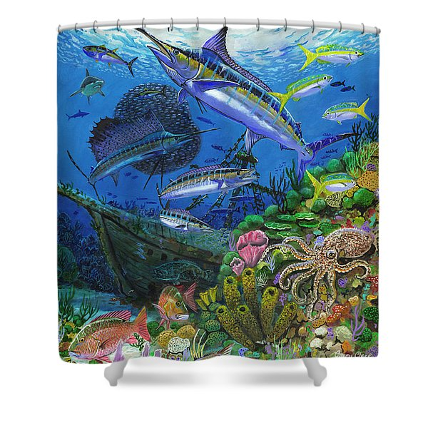 Pirates Reef Shower Curtain